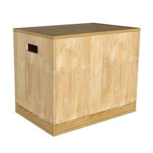 Box jump 35 cm