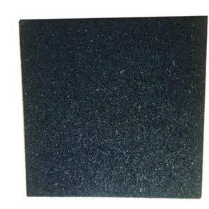 Dalles caoutchouc recyclées SBR DC / Bord droit / épaisseur 2 - 3 - 4 cm